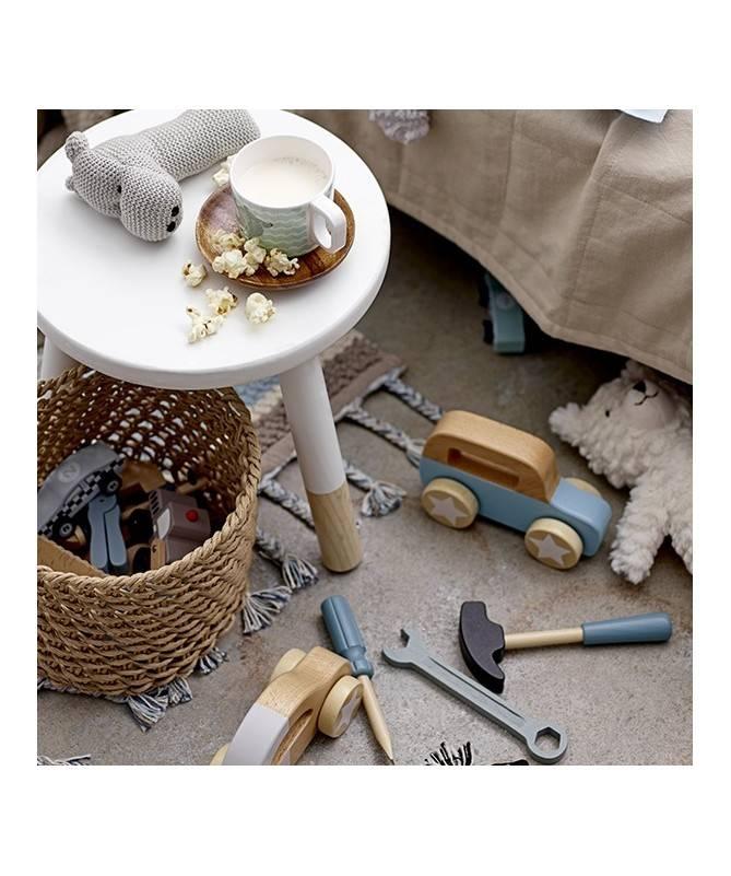 Set outils en bois - 9 jouets en bois