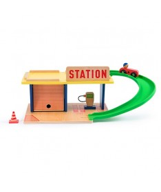 Station service Dans la ville