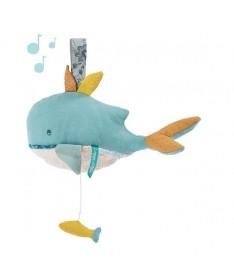 Boite à musique Peluche Baleine