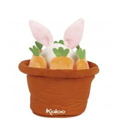 Kachoo - Marionnette cache-cache lapin Robin