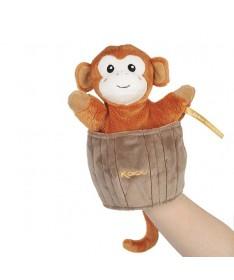 Kachoo - Marionnette cache-cache singe Jack