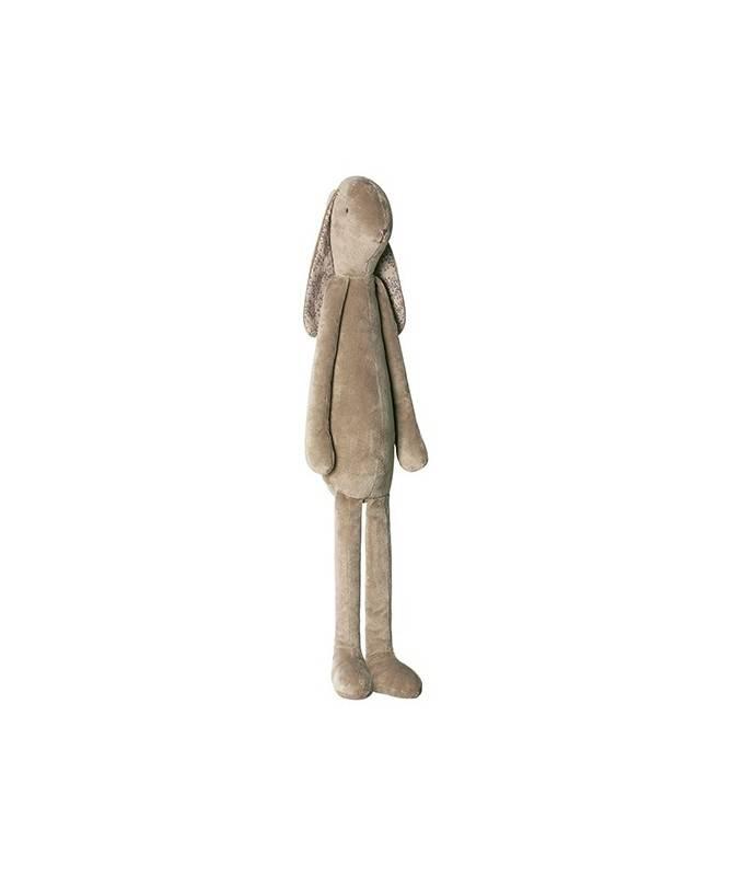 Peluche Lapin doux - Marron - Géant