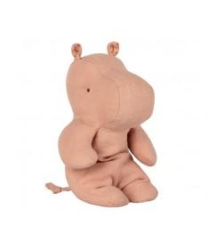Safari friends Petit hippopotame - Vieux Rose