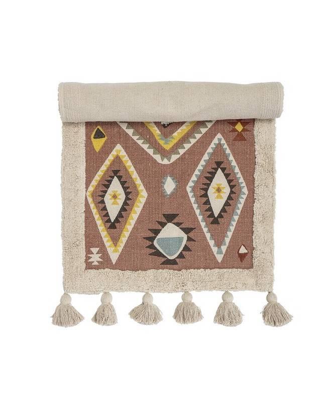 Tapis motifs aztèques - cotton