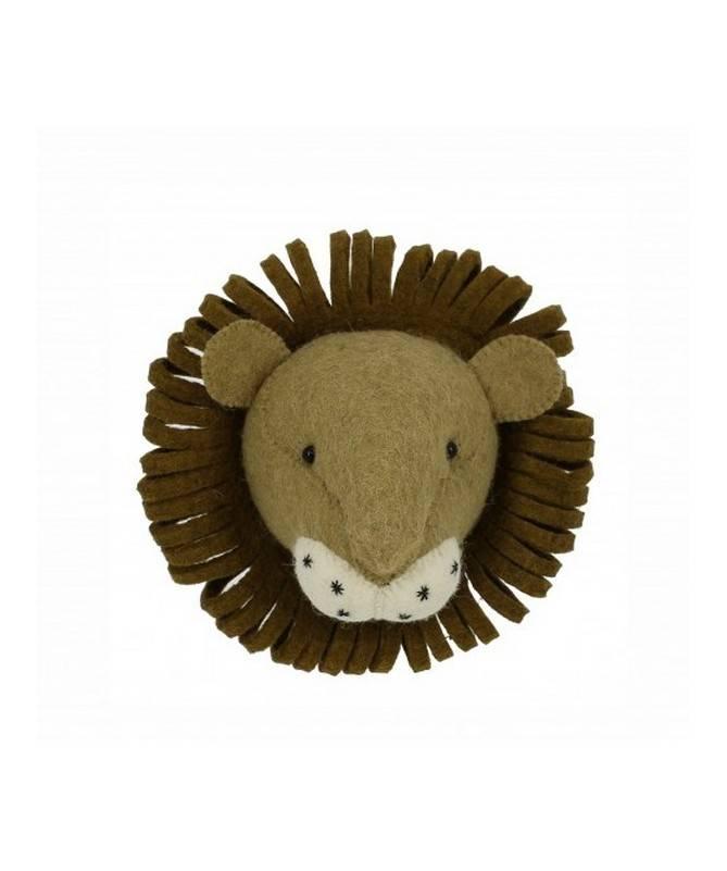 Trophée mini tête de lion