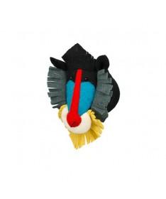 Trophée mini tête de babouin