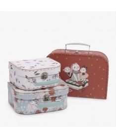 Set de 3 valises Après la pluie