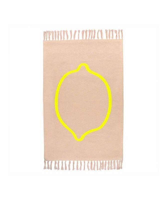 Tapis de sol Rose - Lemon Squash