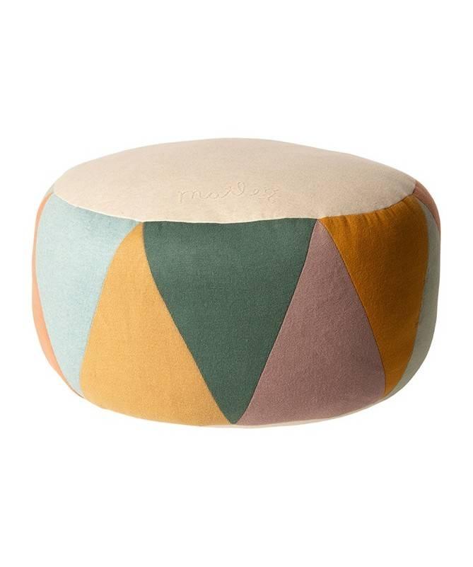 Grand pouf, multicolor