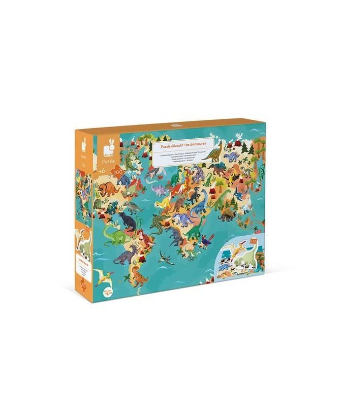 PUZZLE EDUCATIF- LES DINOSAURES - 200 PCS