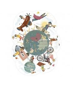 Autour du monde puzzle