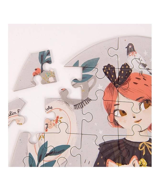 Puzzle Constance (65 pièces) Les Parisiennes