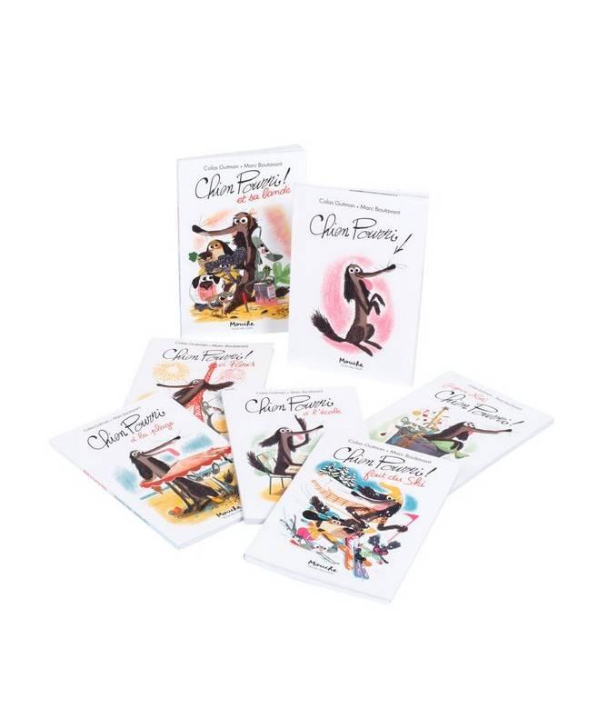 Livre Chien Pourri fait du ski de Gutman-Boutavant