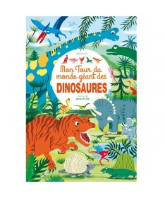Livre Mon tour du monde géant des dinosaures
