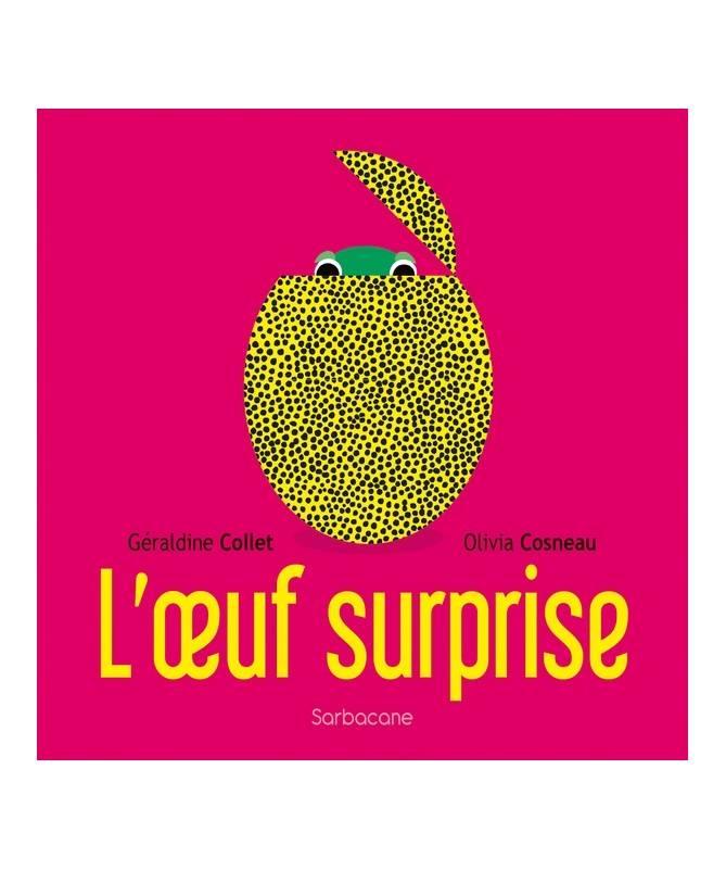 Livre L'œuf surprise