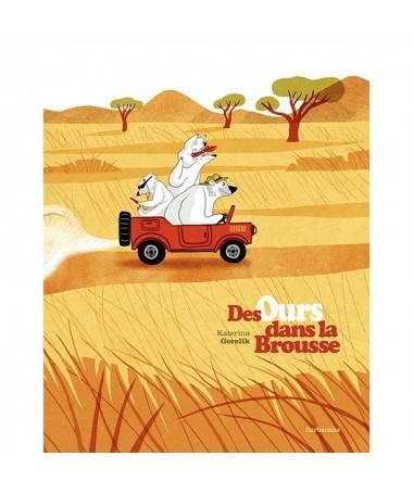 Livre Des Ours dans la Brousse