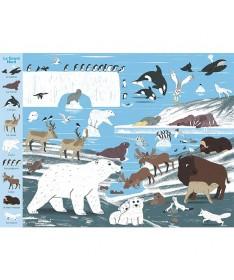 Livre Mon grand tour du monde des animaux