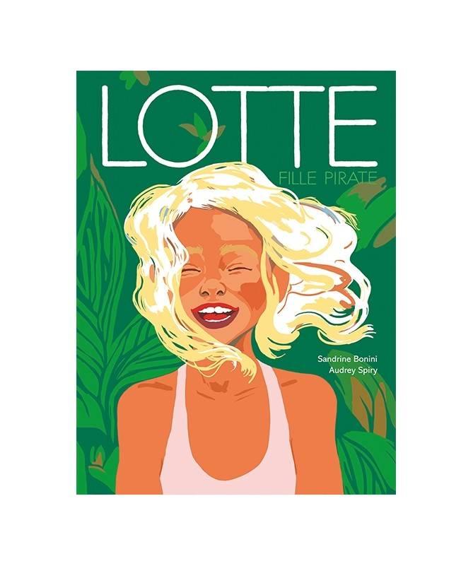 Livre Lotte, fille pirate