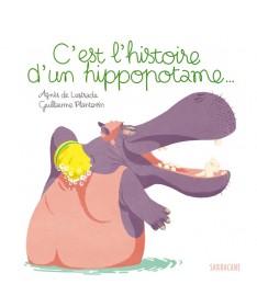 Livre C'est l'histoire d'un hippopotame