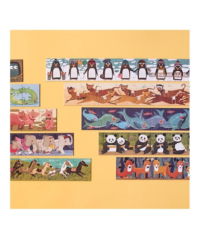 10 Pingouins puzzle