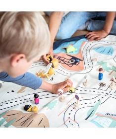 Tapis et sac de jeu L.A Roadmap