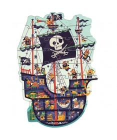 Le bâteau de pirate (36Pcs)