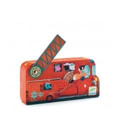 Le camion de pompier (16Pcs)