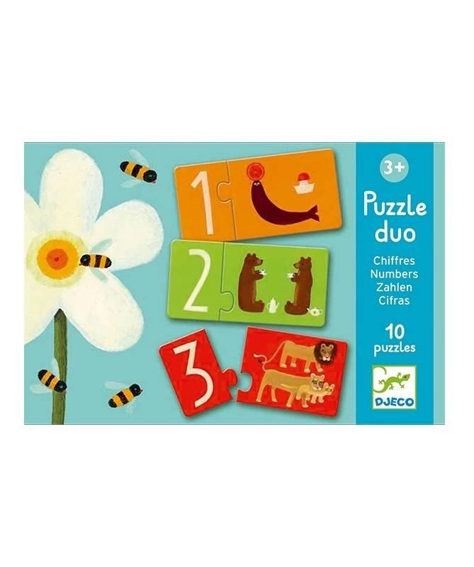 Puzzle Duo - Chiffres