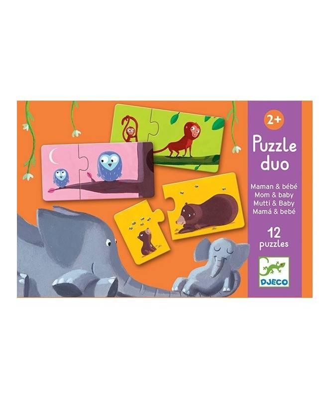 Puzzle Duo - Maman et bébé
