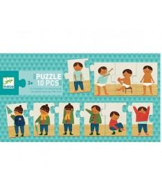 Puzzle Trio - Je m'habille