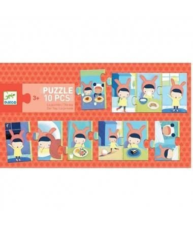 Puzzle Trio - La journée