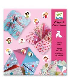Origami - Cocottes à gage - Fleurs
