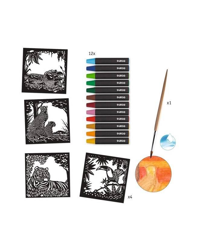 Atelier aquarelle - A contre jour