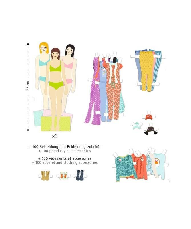 Activités papier - Le grand dressing