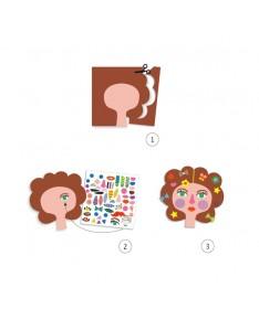 Créer avec des Stickers - Coiffeur