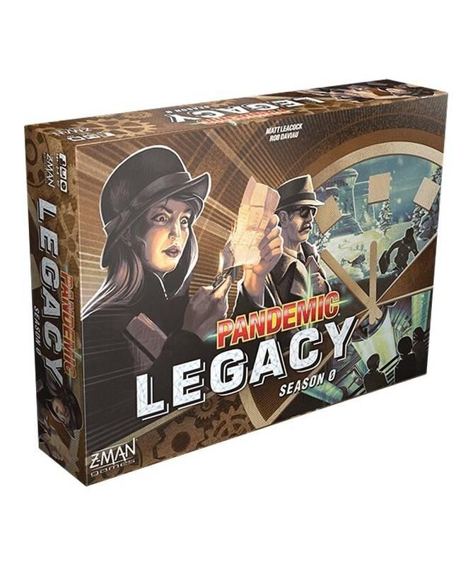Pandemic Legacy : Saison 0