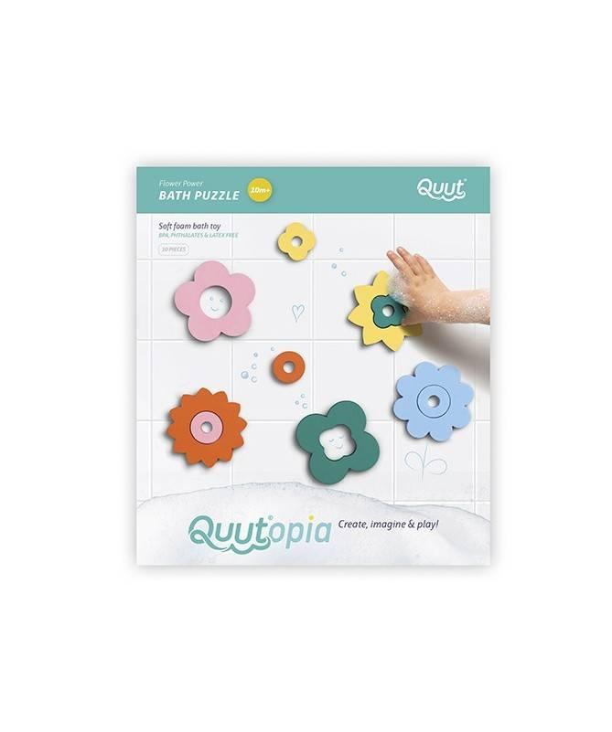 Quutopia - Puzzle de bain - Flower Power