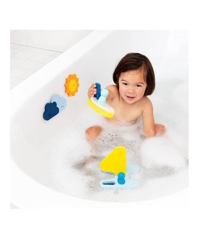 Quutopia - Puzzle de bain - Bateaux