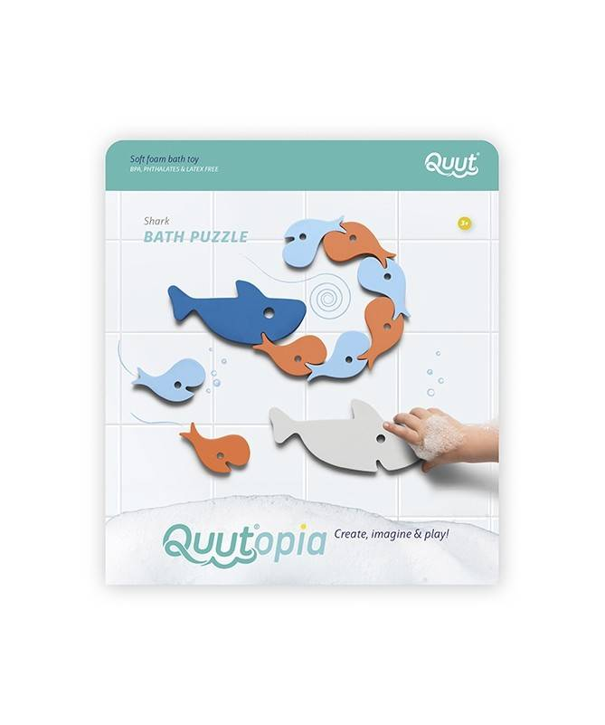 Quutopia - Puzzle de bain - Requins