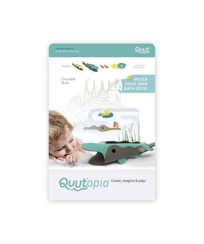 Quutopia- 3D - La rivière aux crocodiles