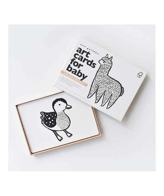 Cartes artistiques - Bébé animaux