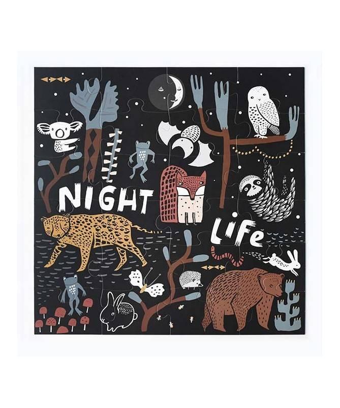 Puzzle de sol - Vie nocturne