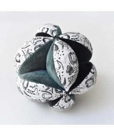 Balle sensorielle - Tissu biologique - Wild