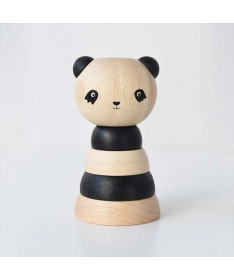 Empilable en bois - Panda