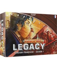 Pandemic Legacy : Saison 1 rouge