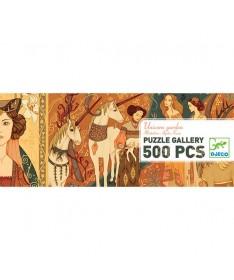Unicorn Garden - 500 pcs - Puzzle