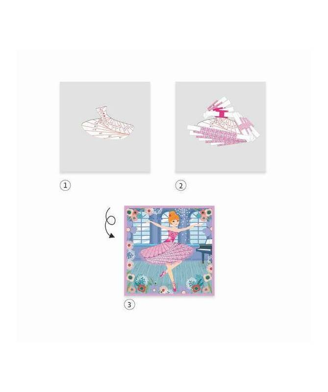 Danseuses - Papier créatif
