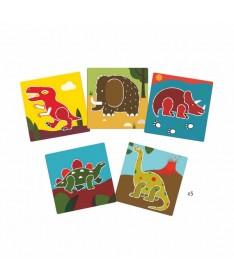 Dinosaures - Pochoirs