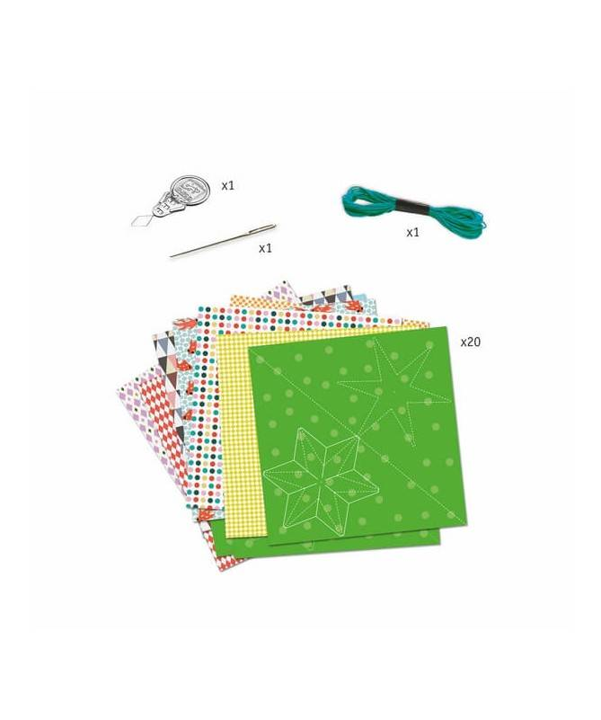 Boules de papier - Pliages