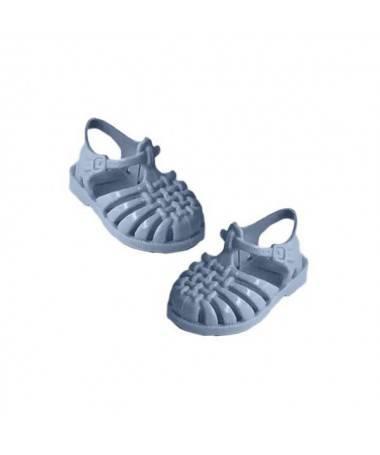 """Sandales de plage """"Sun"""" - Bleu Pastel - Poupée Gordis"""